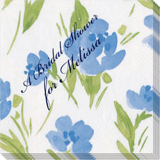 Blue Garden Party Caspari Napkins