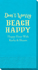 Don't Worry Beach Happy Guest Towels