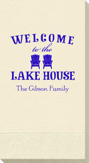 Welcome to the Lake House Guest Towels