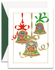 Elegant Bells Holiday Cards