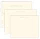 Triple Thick Clarity Embossed Flat Note Card Ensemble Image 1 of 4