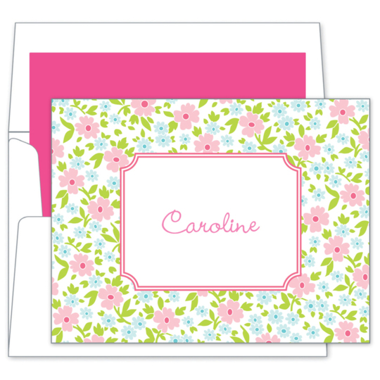 Emma Floral Folded Note Cards