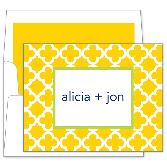 Sunflower Bristol Tile Note Cards