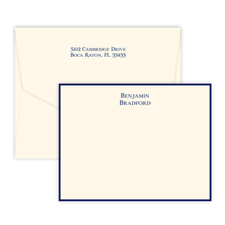 Triple Thick Isaac Flat Note Cards