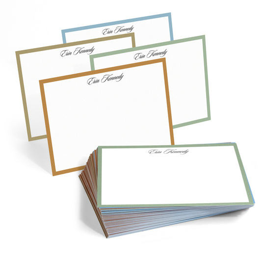 The Palm Desert Border Flat Note Cards Collection