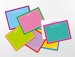 Grand Collection of Colorful Correspondence Note Cards