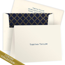 Luxury Tabitha Foldover Note Card Collection on<br> Triple Thick Stock