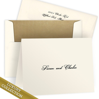 Luxury Kristine Folded Note Card Collection