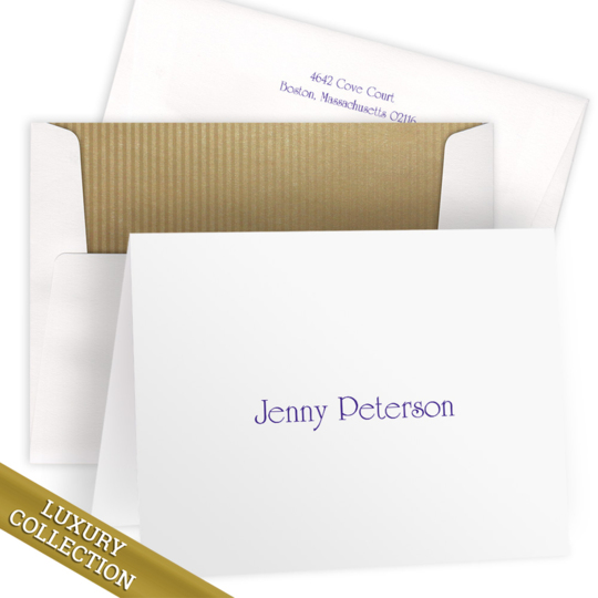 Luxury Boston Folded Note Card Collection