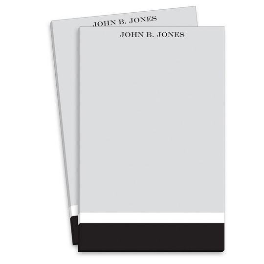 Black and Grey Notepads