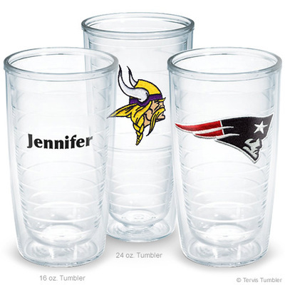 Design Your Own NFL Personalized Tumblers