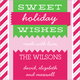 Candy Cane Stripes Gift Stickers Image 1 of 2