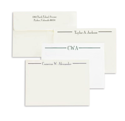 Cameron Correspondence Flat Note Cards