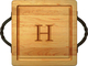 Maple 12 inch Square Personalized Cutting Board Image 1 of 2