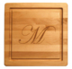 Maple 12 inch Square Personalized Cutting Board Image 2 of 2