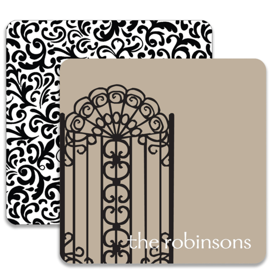 Welcome Gate Coaster Set
