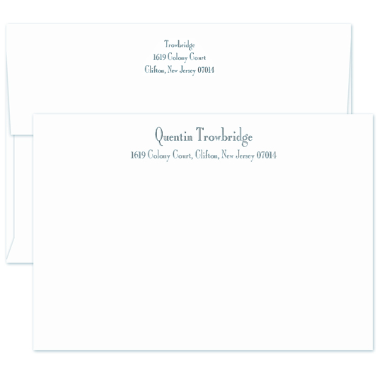 Majestic Flat Correspondence Cards