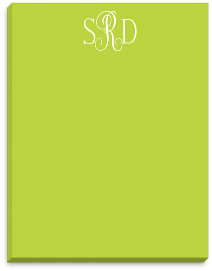Bright Chartreuse Notepads