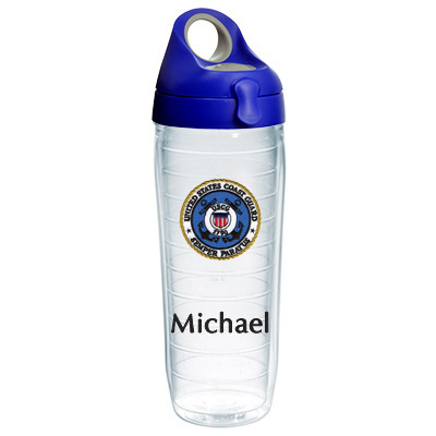 United States Coast Guard Personalized Tervis Water Bottle