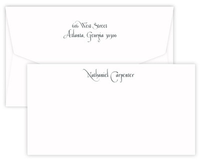 Triple Thick Casual Wide Flat Note Cards