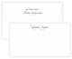 Triple Thick Casual Wide Flat Note Cards Image 1 of 2