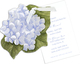 Hydrangea Die-cut Invitations Image 2 of 4