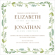 French Garden Invitations Image 1 of 4