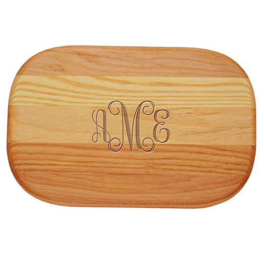 Script Monogram Small Bar Board
