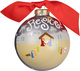 Rejoice Glass Christmas Ornament Image 3 of 3