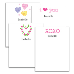 Valentine Notepad Collection