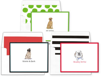Pick Your Dog Foldover Note Cards