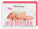 Pink and Bold Photo Birth Announcements Image 1 of 2