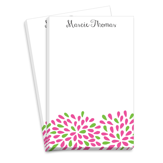 Kelly and Pink Mum Notepads