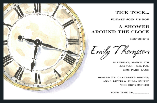 Time Invitations