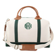 Personalized Green Trimmed Weekender Image 1 of 4