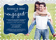Navy Together Forever Engagement Invitations Image 5 of 5