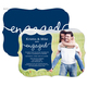 Navy Together Forever Engagement Invitations Image 1 of 5