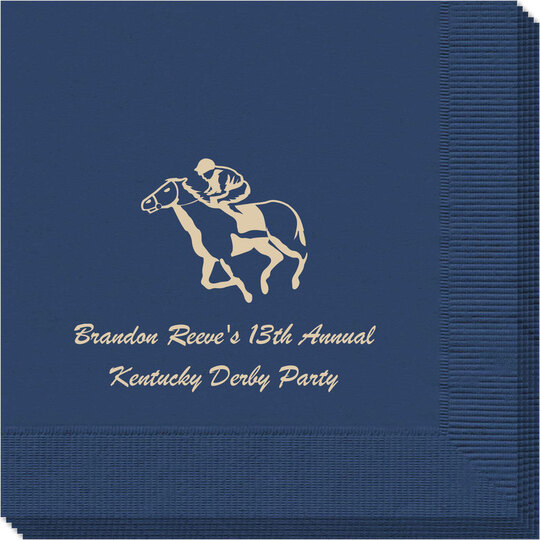 Horserace Derby Napkins