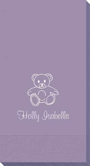 Little Teddy Bear Guest Towels