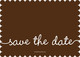 Brown Marker Photo Save the Date Cards Image 2 of 6