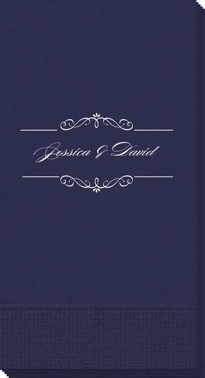 Bellissimo Scrolled Guest Towels