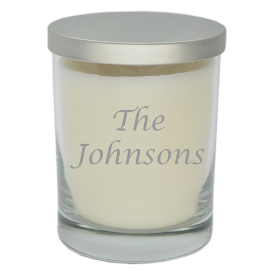 Luxury Soy Candle with Name