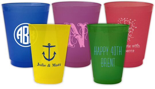 Design Your Own Colored Shatterproof Cups