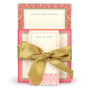 Pink and Gold Notepads