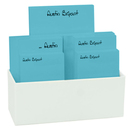 Chromatic Anthony Notepad Collection in White Holder