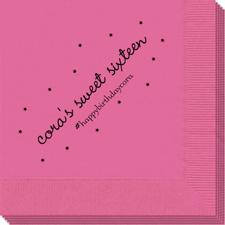 Sweet Little Stars Napkins