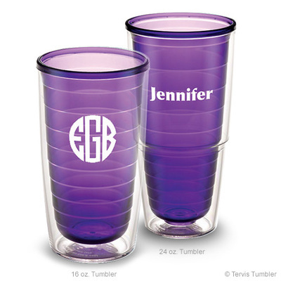 Design Your Own Personalized Amethyst Tervis Tumblers