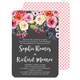Charcoal Watercolor Roses Invitations Image 1 of 7
