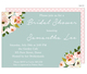 Blue Pink Corner Roses Invitations Image 6 of 6