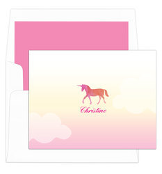 Magical Shades of Pink Unicorn